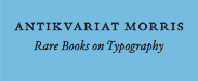Antikvariat Morris - Rare books on Typography