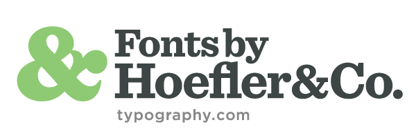 For 25 years, Hoefler & Co. has helped the world's foremost publications, corporations, and institutions develop unique voice through typography.